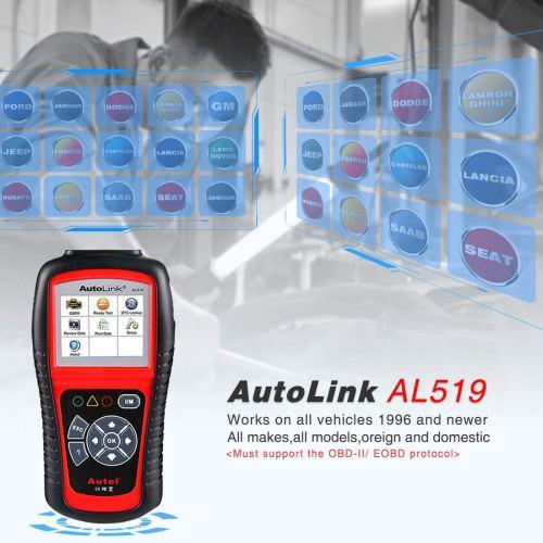 AutoLink OBD II Scan Tool