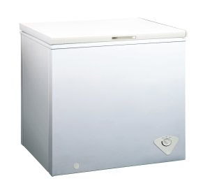 white small chest freezer