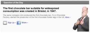 Bristol Chocolate Bar