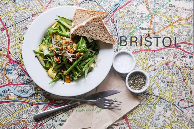 canteen bristol map