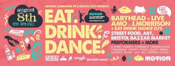 eat drink dance motion