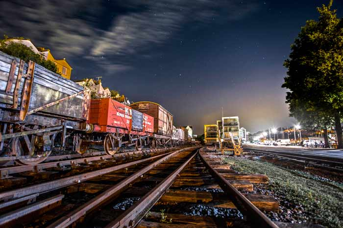 Bristol Carriages at Night