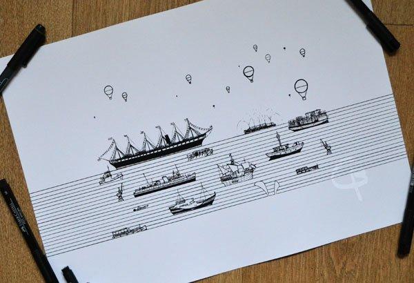 bristol boats drawings cai