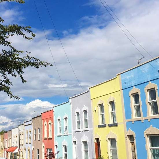 colour houses bristol