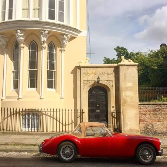 clifton village red car