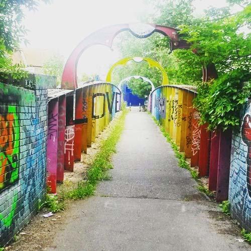 rainbow bridge bristol