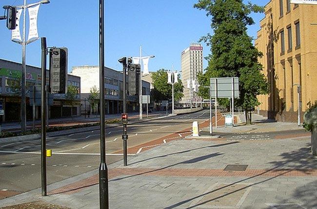 Bond Street empty