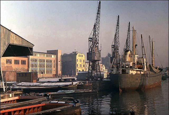 bristol docks in the 1960s