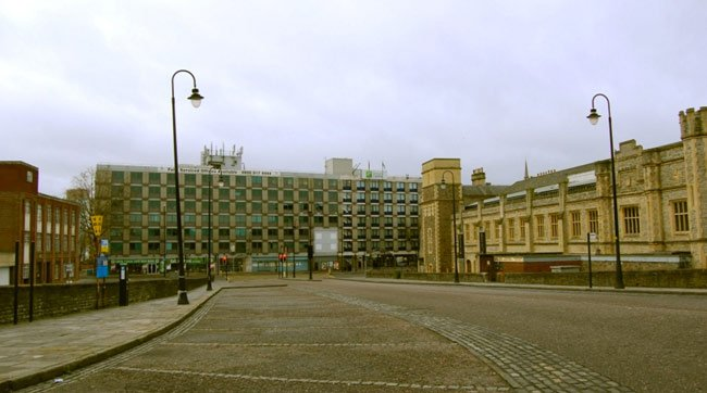 Temple meads empty