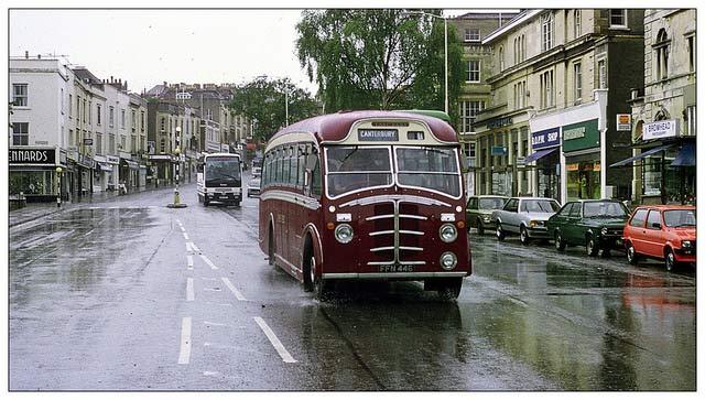 Whiteladies road in the 1980s