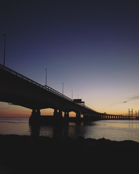 Severn Bridge Sunsey