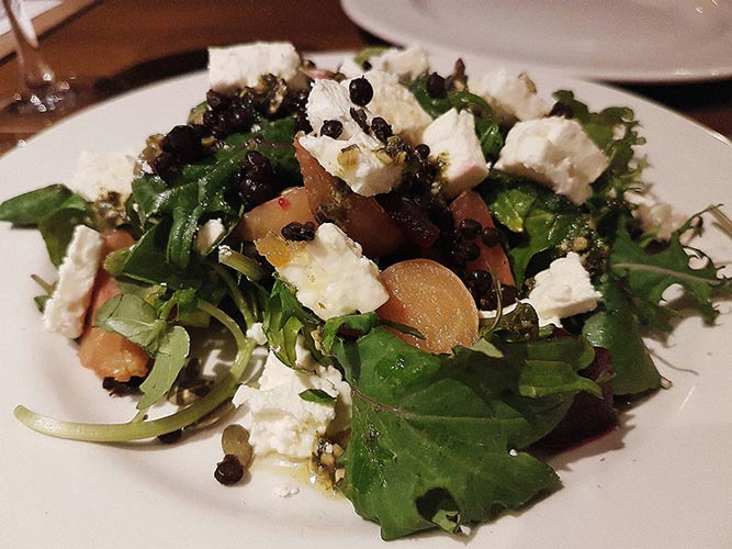 flyer salad