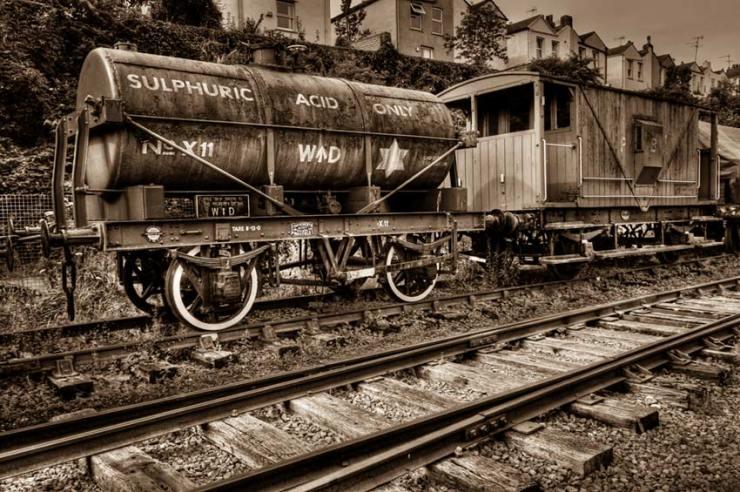 sulphuric acid train