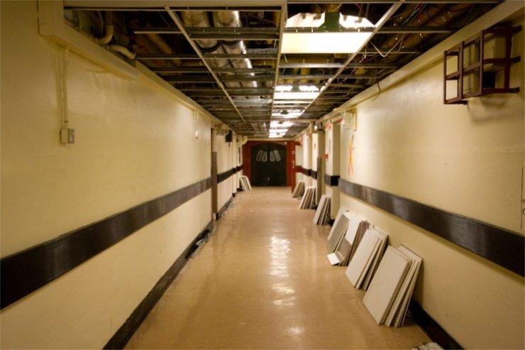 Bristol general hospital corrider