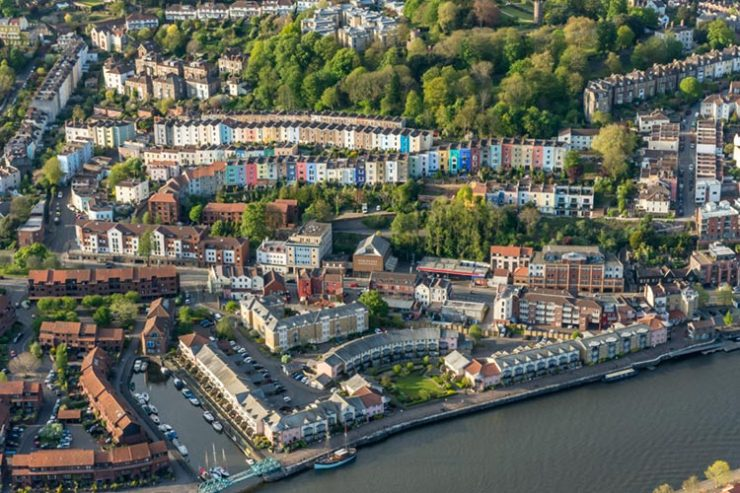 hotwells from above