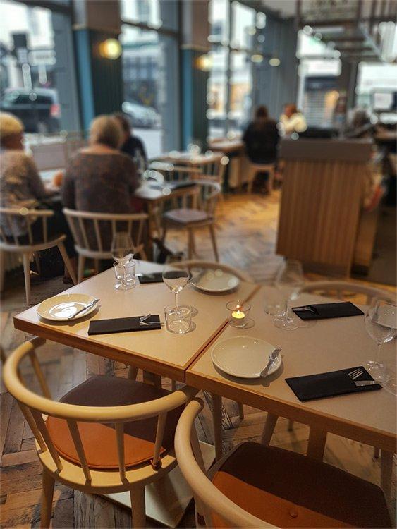 wellbourne bristol restaurant inside