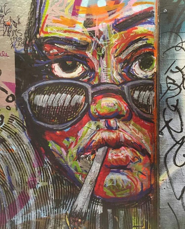 unknown street art