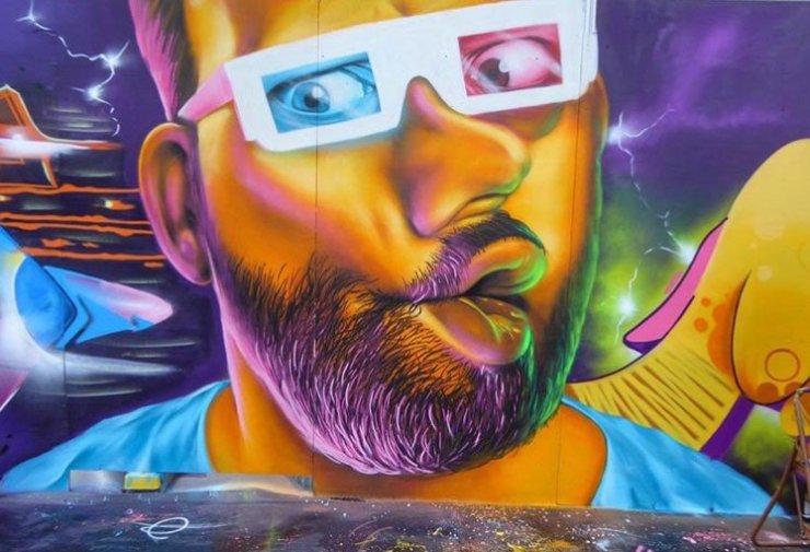 Woskerski street art