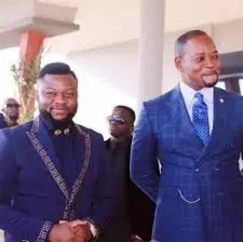 Prophet Jay Israel With Pastor Alph Lukau