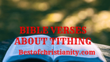 Bible Verses About Tithing