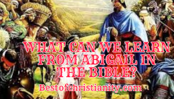 What Can We Learn From Abigail In The Bible
