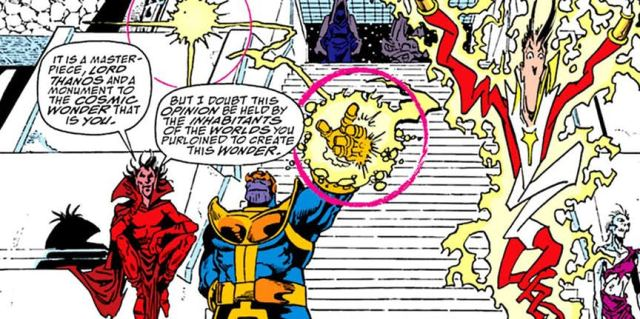 6 thanos moments that cannot be brought to life on the big screen
