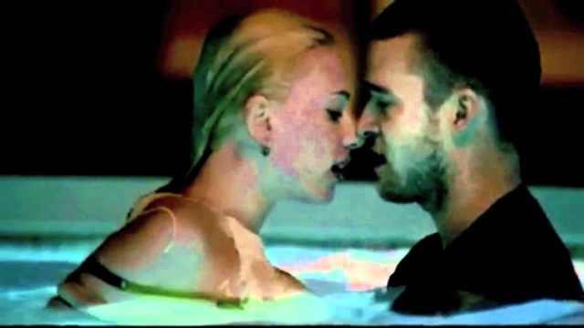 Scarlett Johanssonfeatured in a video with Justin Timberlake