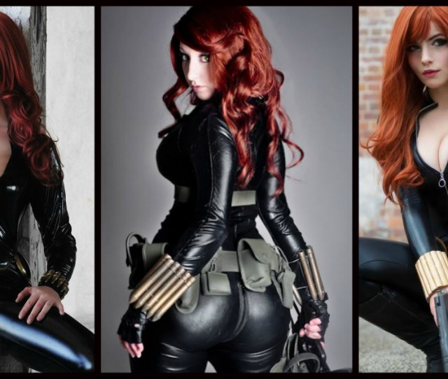 Breath Taking Black Widow Cosplays Will Get You Hyped For