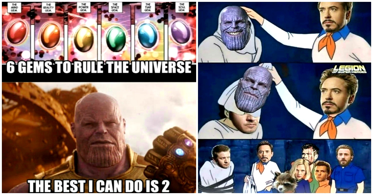 25 Avengers Memes To Prove Thanos Would Be Defeated Best