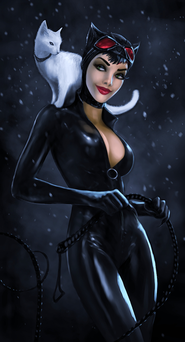 Catwoman smile