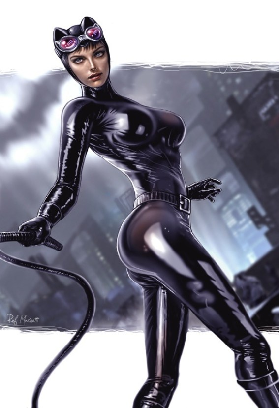 Catwoman hotty