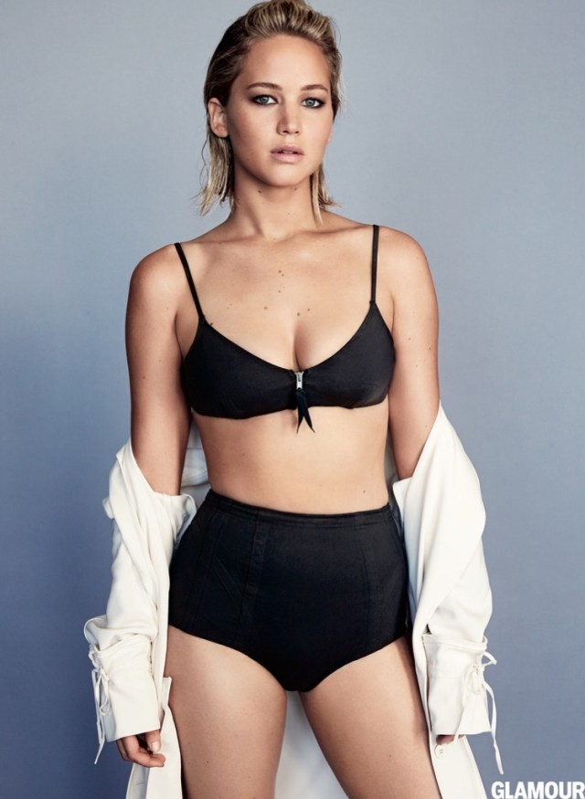 Jennifer Lawrence Lingerie