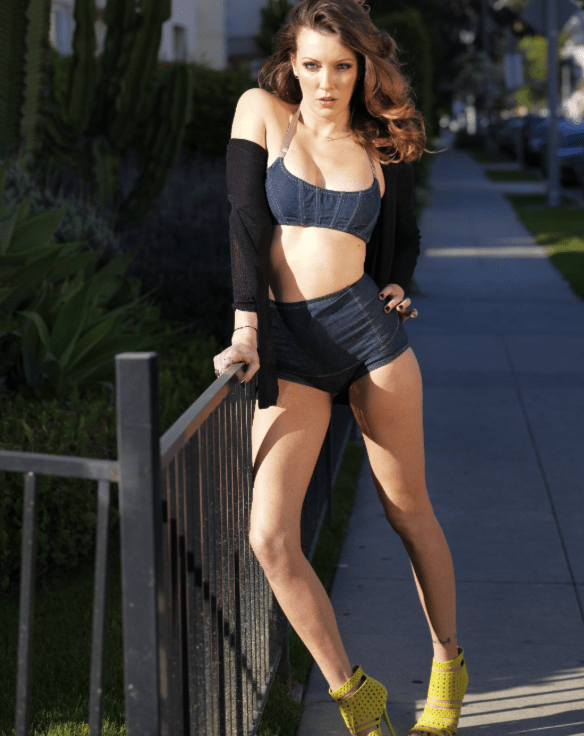 Katie Cassidy Showing Off Her Hot Long Legs