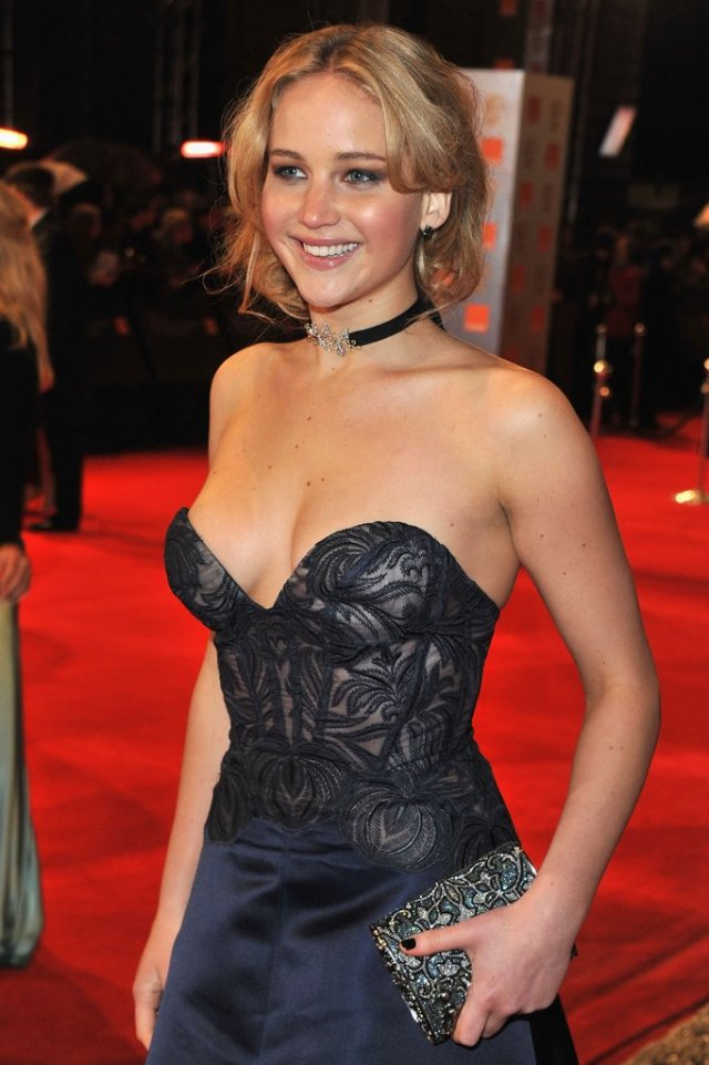 Jennifer Lawrence Party Time