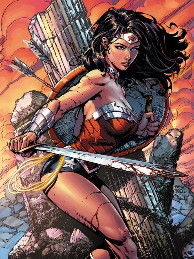 Wonder Woman Dashing