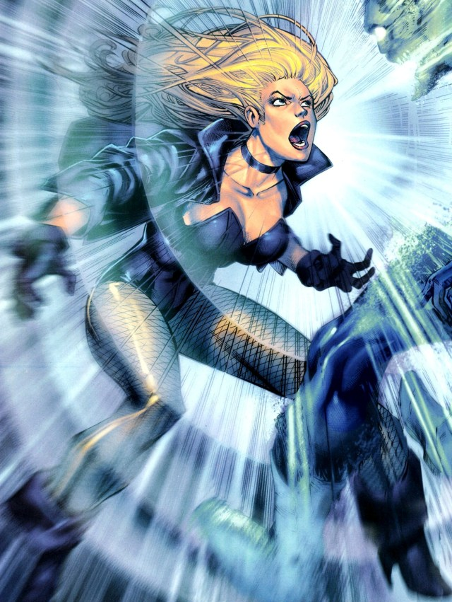 Black Canary Hottest