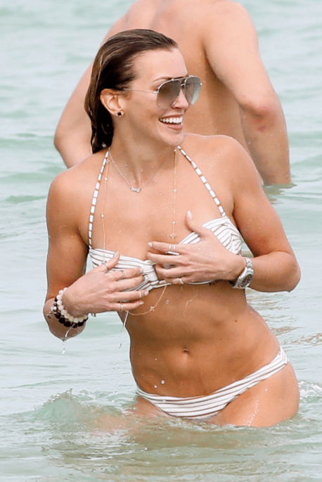Katie Cassidy's Saving Herself From Paparazzi