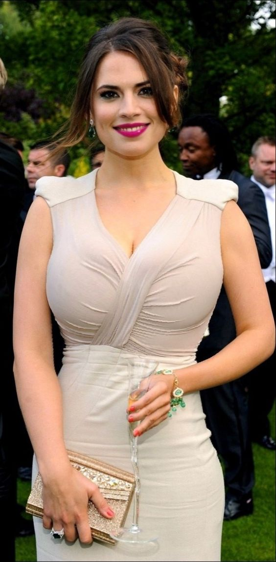 Hayley Atwell party