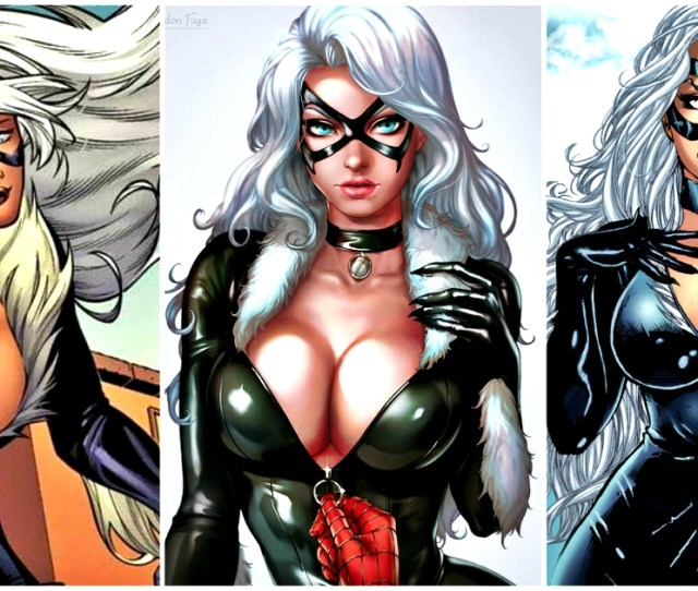 Hot Pictures Of Black Cat Felicia Hardy From Marvel Comics
