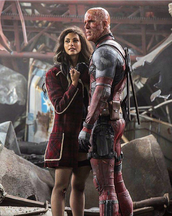 Morena Baccarin With Deadpool