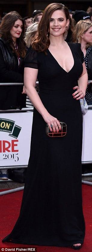 Hayley Atwell on Red Carpet