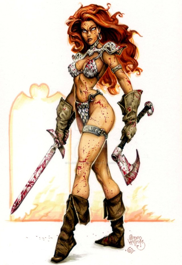 Red Sonja Sexy