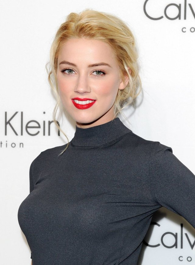 Amber Heard Hot Lips