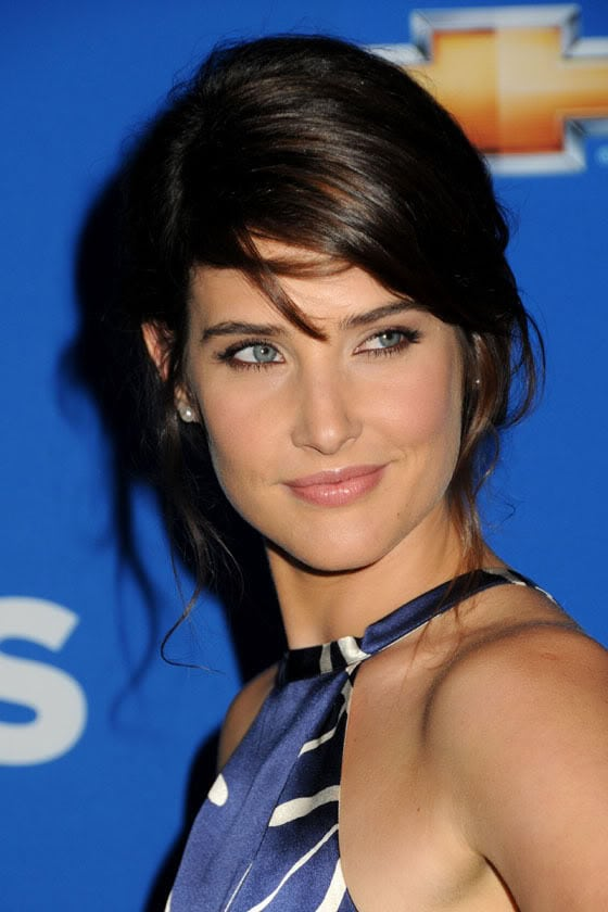 Cobie Smulders Blue Eyes