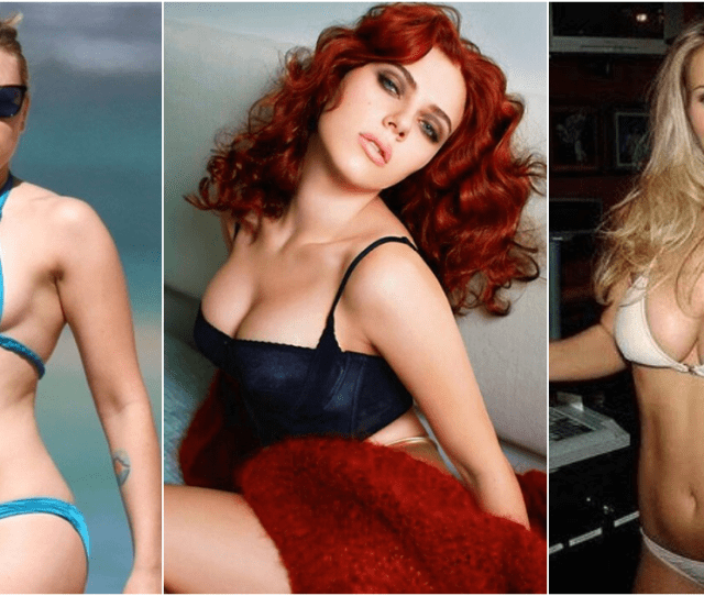 33 Hottest Scarlett Johansson Bikini Pictures Will Make Black Widow Fans Mad