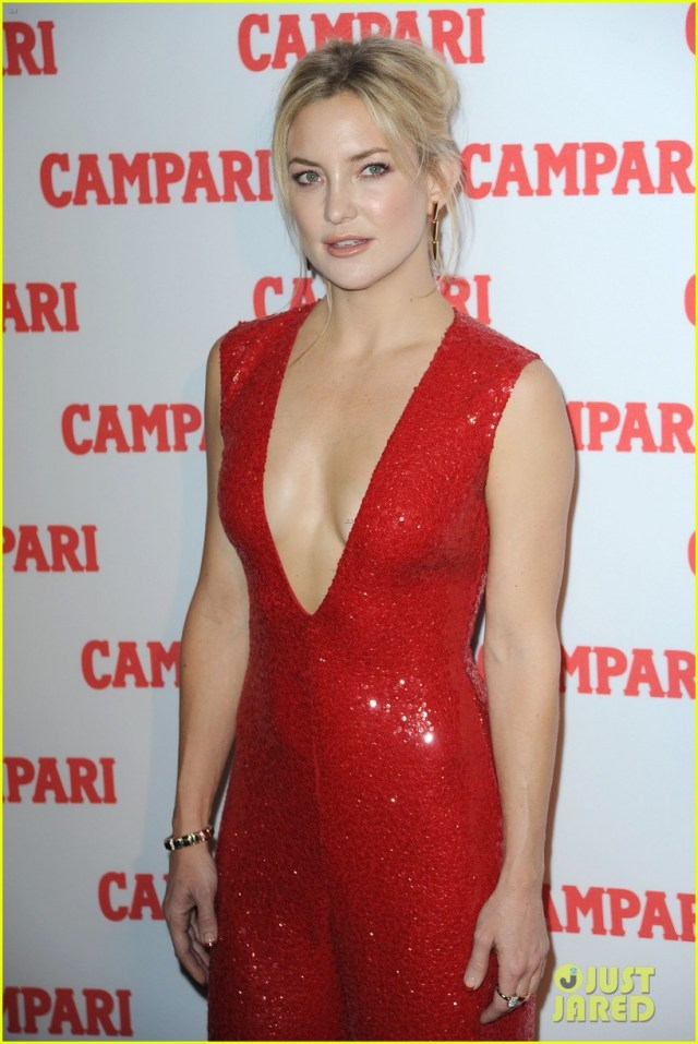 Kate Hudson Hot in Red