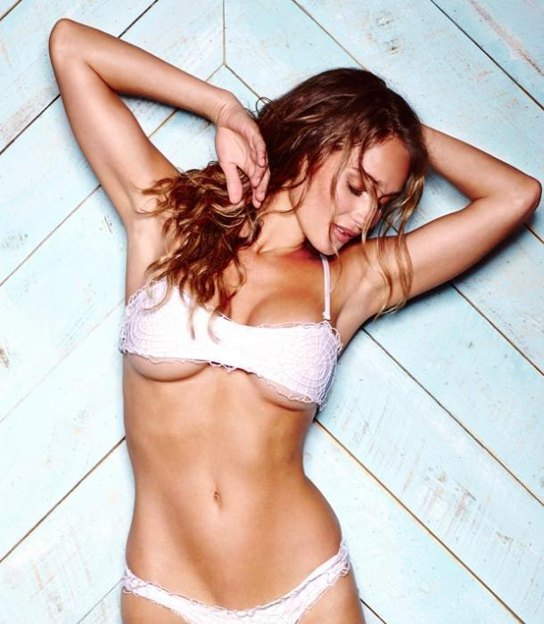 Hannah Davis on Photoshoot