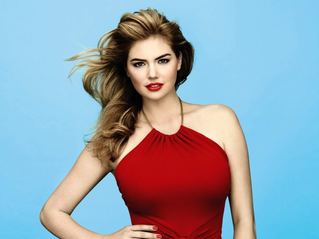Kate Upton Hot in Red