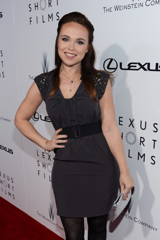 Amanda Fuller on Red Carpet