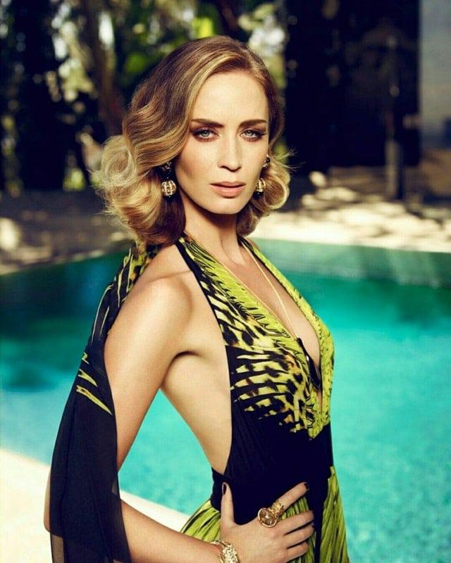 Emily Blunt on Swimming
